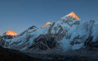 Hindernis auf dem Weg zum Gipfel